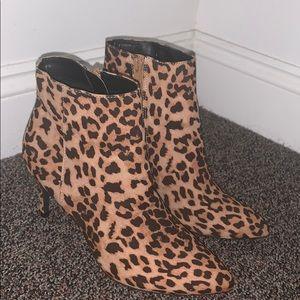 EXPRESS Cheetah Booties